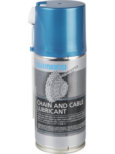Shimano Sprühöl 125ml blue/silver